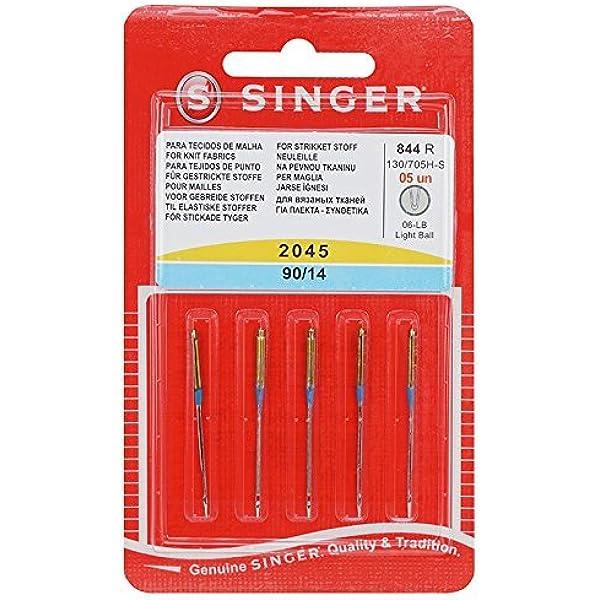 Pack Agujas Singer 2045 90/14 130/705 H-S: Amazon.es: Electrónica