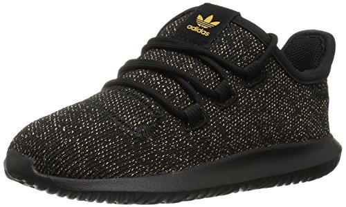adidas Originals Boys' Tubular Shadow I Sneaker, Core Black/Core Black/Core Black, 7.5 M US - Running Apparel Outlet