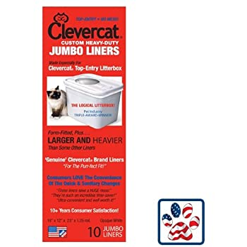 Amazon Com Clevercat Jumbo Liners For Clevercat Top