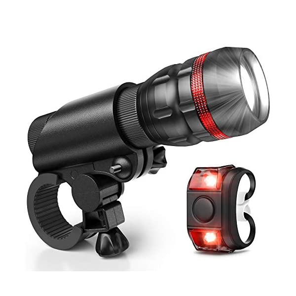 Vont Bike Light, Comes with Free Tail Light, Bicycle Light Installs in Seconds Without...