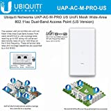 UniFi Mesh AC Pro UAP-AC-M-PRO-US 802.11AC 3x3 MIMO Outdoor Wi-Fi Access Point Wide-Area Dual-Band AP