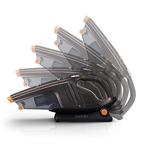 Dep/ósito 0.5L Gris Cicl/ónica AEG HX6-35TM Aspiradora de Mano Sin Cable hasta 35 Minutos 2 Velocidades Sin Bolsa 78dB de Ruido Cepillo Extensible XL