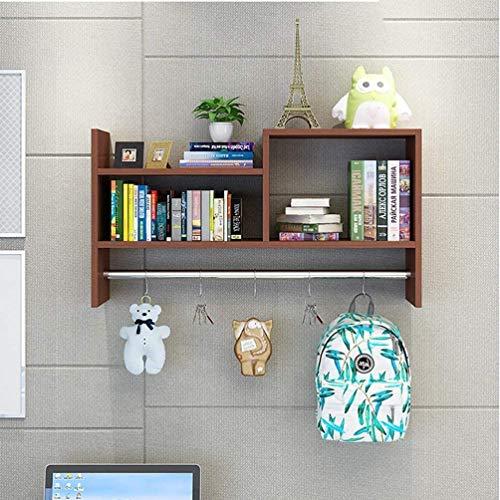 onlinecraft Wooden Wall Shelf  Brown