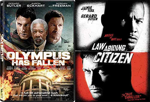 Gerard Butler Protecting The Law & Our President: Olympus Has Fallen & Law Abiding Citizen 2-DVD Bundle (Jamie Foxx And Gerard Butler Law Abiding Citizen)