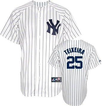 c2ef94ca7e1 MLB New York Yankees Youth Mark Teixeira 25 Replica Jersey