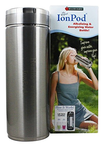 (1) IonPod Stainless Steel Water Ionizer by Healthy Habits (ONE PACK)