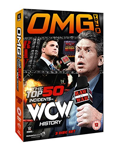 WWE: OMG! Vol. 2 - The Top 50 Incidents In WCW History [DVD] (Wwe Omg Top 50 Incidents In Wwe History)