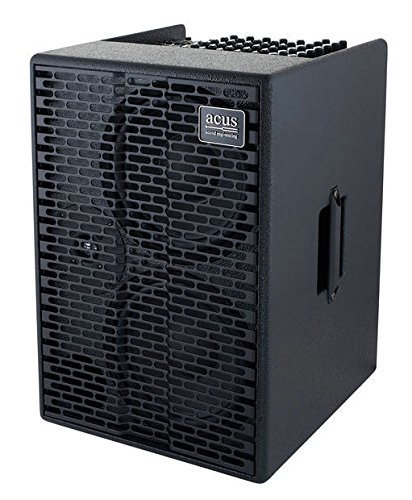 Acus Sound Engineering 03001006 OneforStrings AD Acoustic Guitar Amplifier – Black