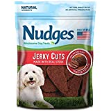 Nudges Steak Jerky Dog Treats, 18 oz