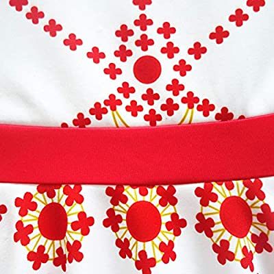 Cercur Girls Kids Cosplay Leotard Print Leap Ruffles Felicie Dance Ballet Dress Costumes: Clothing