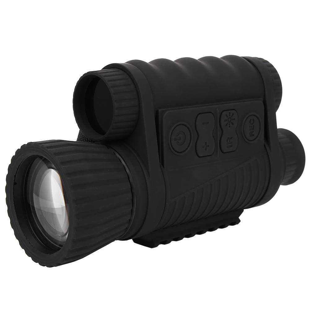 Qinlorgo Night Vision Device, Handheld 6X50 IR Monocular Night Vision Telescope for Outdoor Hunting Security Surveilla by Qinlorgo