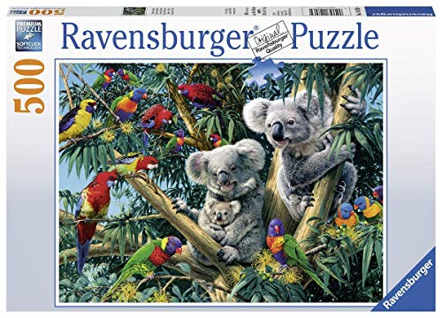 Ravensburger Koalas in a Tree 500pc Jigsaw Puzzle (Koala Tree)