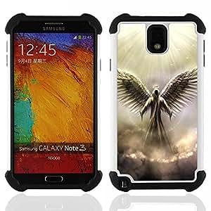 King Case - angel god heaven clouds light wings art - Cubierta de la caja protectora completa h???¡¯???€????€?????brido Body Armor Protecci&Atild