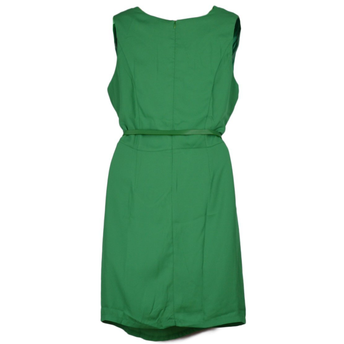 Crepe Wrinkle Neck Spell Sleeveless Tiny Dress With Belt at Amazon Womens Clothing store:
