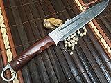 Cheap Hunting Knife – Damascus Steel – Handmade Knife – Work of Art