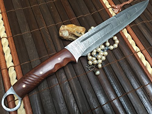 hunting-knife-damascus-steel-handmade-knife-work-of-art