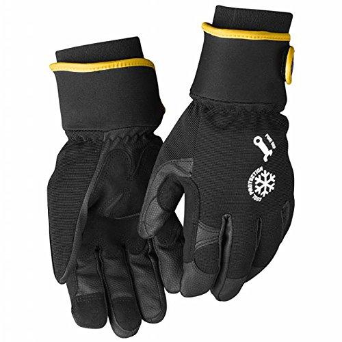Pack of 1, 11, Black//Grey, 22473944999411 Blakl/äderWinter Gloves