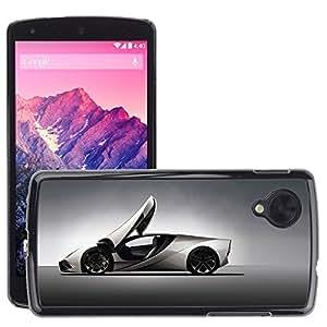 CarCase Slim Case Cover Backcover Frame Shell LG GOOGLE NEXUS 5 // lamborghini concept 2 //