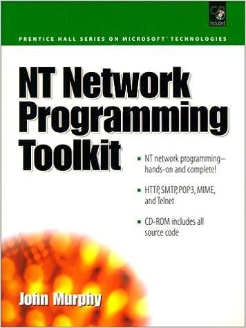 NT Network Programming Toolkit (Prentice Hall Series on Microsoft