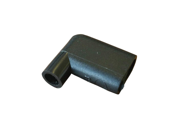 10 x Winkeltülle, Isoliertülle aus PVC für 90° Winkel - Flachsteckhülse NETPROSHOP