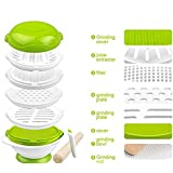 SKK BABY 8-Piece Homemade Mash Food Processor Set BPA...