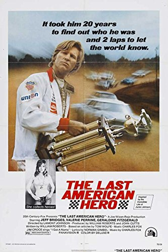 The Last American Hero Poster B Jeff Bridges Valerie Perrine Gary Busey