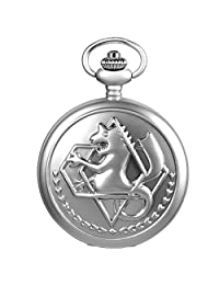 SIBOSUN Pocket Watch FullMetal Alchemist Edward Elric Anime With Chain Box