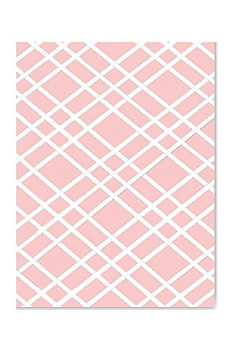 Bulletin-Memo Board and Picture Frame: Pink and White (Large (20