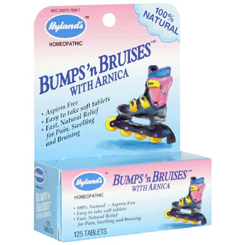 Hyland's Bumps 'n Bruises with Arnica, Tablets, 125 tablets (Pack of 3)