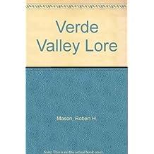 Verde Valley Lore by Robert H. Mason (1997-11-21)