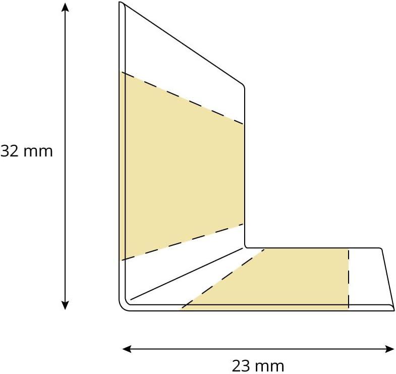 15 m Z/ócalo Autoadhesivo HOLZBRINK Rodapi/és flexible autoadhesivo Chocolate Rodapi/és flexible 32x23 mm