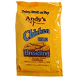 Andy's Mild Chicken Breading Mix, 10-Ounce Boxes (Pack of 12)