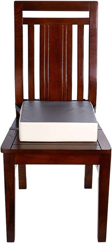 chaise de salle /à manger BSTKEY Si/ège rehausseur r/églable et lavable avec sangles pour chaise de salle /à manger coussins de chaise pour enfant