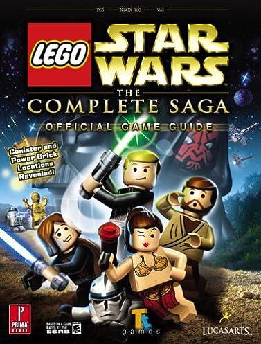 lego star wars the complete saga prima official game guide prima rh amazon com lego star wars guide minikit LEGO Star Wars Lot