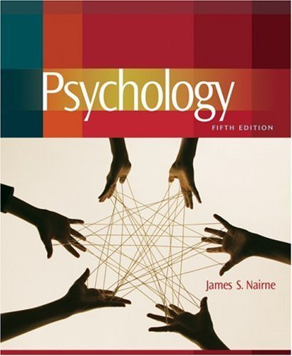Psychology 5th (fifth) edition (authors) Nairne, James S. (2008) published by Wadsworth Publishing [Hardcover]