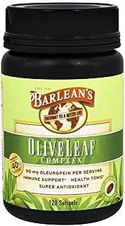 product image for Olive Leaf Complex Barlean's 120 Softgel by Barlean's Organic Oils