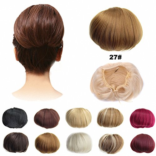 FESHFEN Scrunchie Extensions Drawstring Strawberry product image