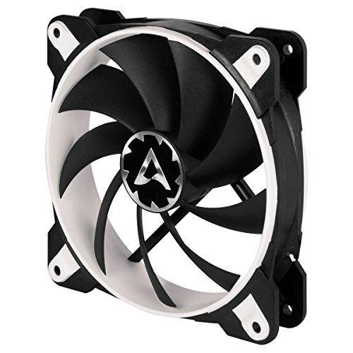 (ARCTIC BioniX F120 (White) - Silent 3-Phase Motor Gaming Fan with PWM and)