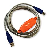 Laplink 6' USB 3.0 SuperSpeed Transfer Cable for PCmover
