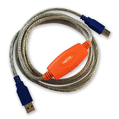 Laplink 6' USB 3.0 SuperSpeed Transfer Cable for PCmover by Laplink Software