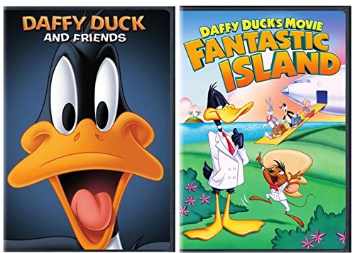 Duck Friends - Daffy Duck Movie Set - Daffy Duck's Movie: Fantastic Island & Daffy Duck and Friends: The Complete Series - 2-Pack DVD set