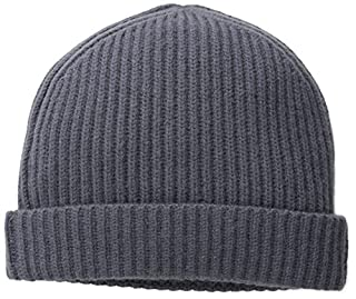 Williams Cashmere Men's Ribbed Hat, Slate, One Size (B00KQAIBHI) | Amazon price tracker / tracking, Amazon price history charts, Amazon price watches, Amazon price drop alerts