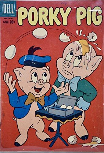 1959 - Dell / Warner Bros - Porky Pig #63 - Vintage Comic ()