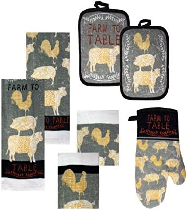 Country Theme Kitchen Towels Holders
