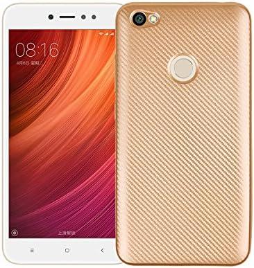 Funluna Funda Xiaomi Redmi Note 5A, Carcasa Redmi Note 5A Prime, Amortiguador de Parachoques con Fibra De Carbono y Silicona Cubierta Case para Xiaomi Redmi Note 5A/Redmi Note 5A Prime Smartphone: Amazon.es:
