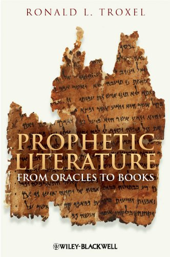 Download Prophetic Literature: From Oracles to Books Pdf