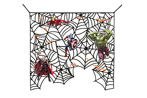 Epic Halloween Decorations (Marvel Avengers Decorative Web)