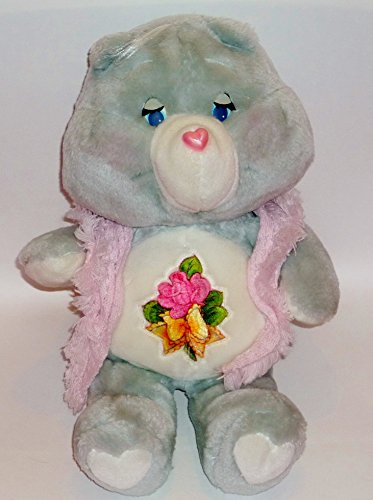 Vintage Care Bear Grams Kenner American Greetings Grandma w Shawl 1983 Plush 15