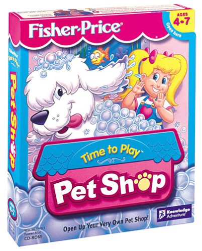 Fisher-Price Time To Play Pet Shop - PC