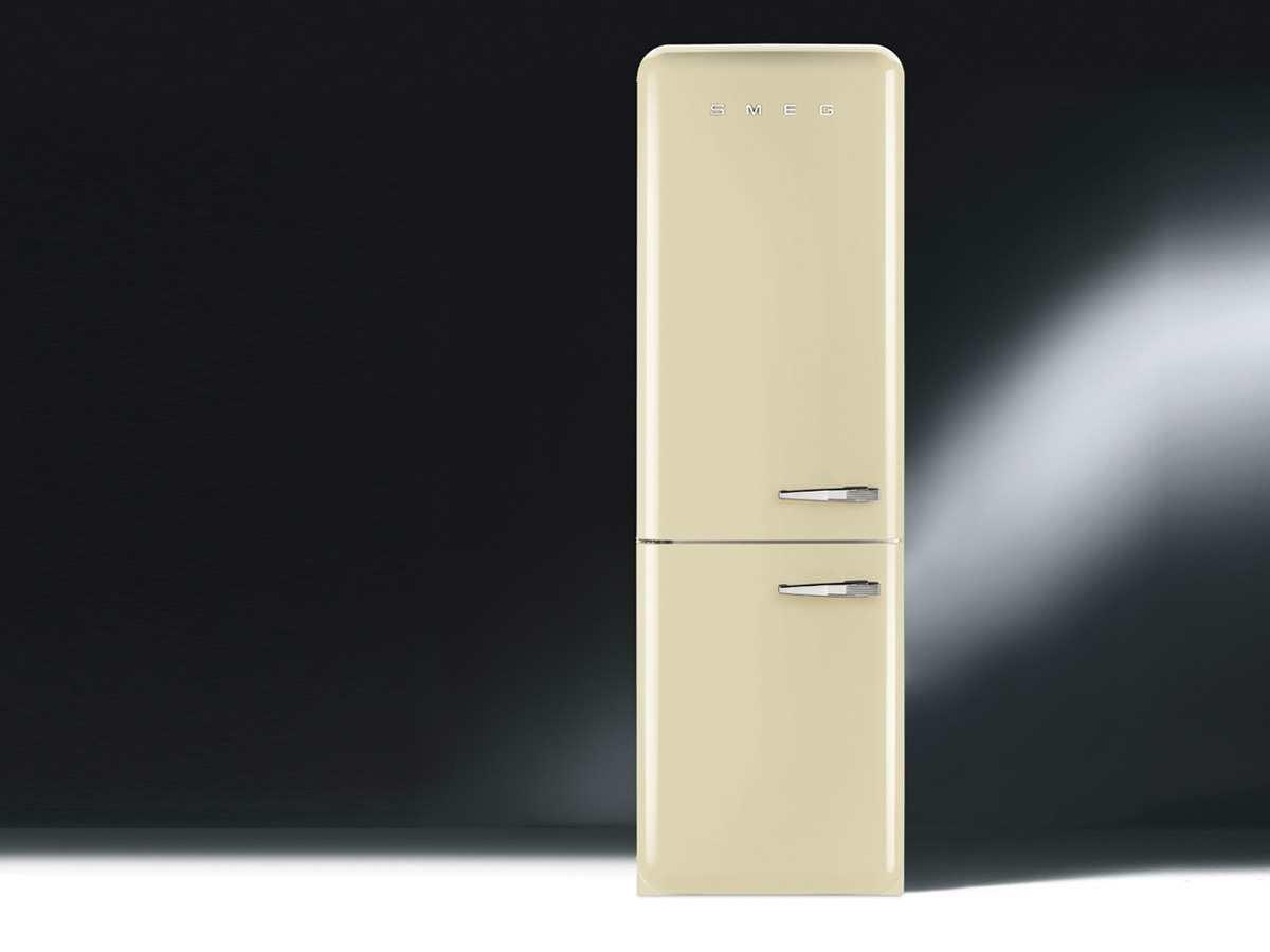 Smeg Kühlschrank Vintage : Smeg fab32lp1 freistehend 311l a creme kühlschrank mit